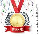 winner  champion  number one... | Shutterstock .eps vector #461374075