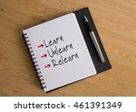 Small photo of Learn, Unlearn, Relearn; business conceptual