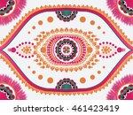 geometric ethnic oriental... | Shutterstock .eps vector #461423419