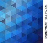 blue grid mosaic background ...   Shutterstock .eps vector #461442421