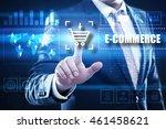 e commerce  business ... | Shutterstock . vector #461458621