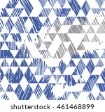 triangle pattern. beauty trendy ... | Shutterstock .eps vector #461468899