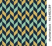 seamless colorful zigzag... | Shutterstock .eps vector #461482189