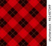 plaid   gingham seamless...   Shutterstock .eps vector #461487349