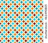 vector seamless geometric... | Shutterstock .eps vector #461490805