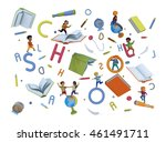 wonderful volume 3d... | Shutterstock . vector #461491711