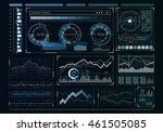 human user display . mixed media | Shutterstock . vector #461505085