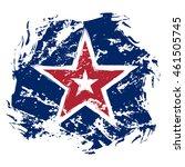 american flag star grunge... | Shutterstock .eps vector #461505745