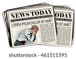 stock illustration. people in... | Shutterstock .eps vector #461511595
