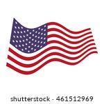 flag united states of america... | Shutterstock .eps vector #461512969