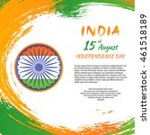indian independence day festive ...   Shutterstock .eps vector #461518189