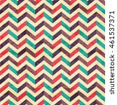 geometric seamless pattern with ... | Shutterstock . vector #461537371