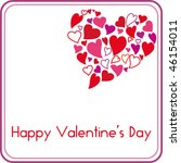 Valentine S Day Card With...