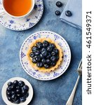 Blueberry Tartlet  Pie  Tart...