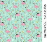 seamless vector endless pattern ... | Shutterstock .eps vector #461551105