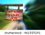 expand your job motivational... | Shutterstock . vector #461555191