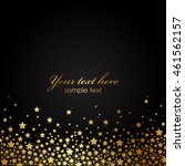 Vector Background With Gold...