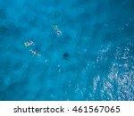 mauritius beach aerial view of...   Shutterstock . vector #461567065