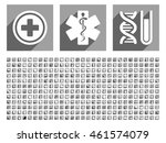 medical glyph icon set with 348 ... | Shutterstock . vector #461574079