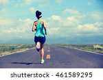 healthy lifestyle young fitness ... | Shutterstock . vector #461589295