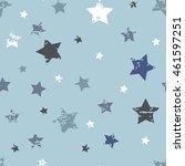 cute seamless pattern. baby boy ... | Shutterstock . vector #461597251