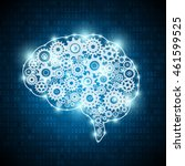artificial intelligence concept ... | Shutterstock .eps vector #461599525