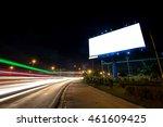 billboard blank for outdoor... | Shutterstock . vector #461609425