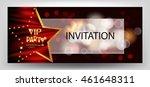 vip party elegant horizontal... | Shutterstock .eps vector #461648311