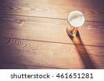 beer glass on wooden table | Shutterstock . vector #461651281