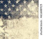 grunge usa flag | Shutterstock . vector #461688925
