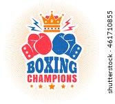vintage vector sport logo for...   Shutterstock .eps vector #461710855