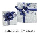 Two Silver Shiny Paper Wrap...