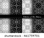 vector collection of black and... | Shutterstock .eps vector #461759701