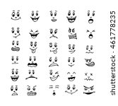 emoticon emoji icon... | Shutterstock .eps vector #461778235