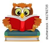vector illustration of an owl...   Shutterstock .eps vector #461782735
