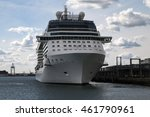 city cruise terminal ... | Shutterstock . vector #461790961