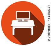 computer display icon  vector ...