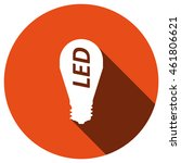 led lamp icon  vector  icon flat   Shutterstock .eps vector #461806621