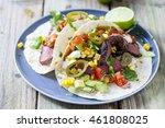Soft Tacos With Fillet Steak ...