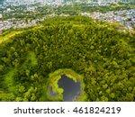 aerial top view perspective of... | Shutterstock . vector #461824219