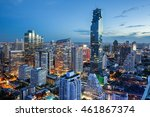 Bangkok Cityscape  Business...