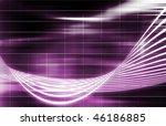 purple medical science... | Shutterstock . vector #46186885