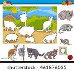 cartoon illustration of... | Shutterstock .eps vector #461876035