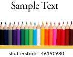 color pencils | Shutterstock . vector #46190980