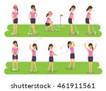 female golf sport athletes ...