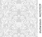 White Lace Seamless Pattern...