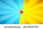 versus letters fight backdrop.... | Shutterstock .eps vector #461924791