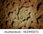 stone carving in the museum... | Shutterstock . vector #461940271