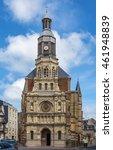 Small photo of Notre-dame De Bon Secours Church in Trouville-sur-mer, France