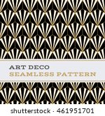 art deco seamless pattern with... | Shutterstock .eps vector #461951701